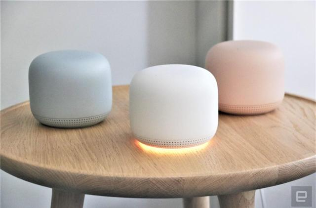 Google's Assistant-friendly Nest WiFi router is available now