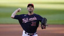 AP source: Dodgers near megatrade for Nats' Scherzer, Turner