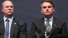 Bolsonaro acusa Witzel de usar a Polícia Civil do Rio para tentar 'destruir' a sua família