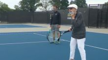 Spanish flu survivor still plays tennis at 102
