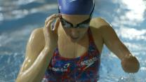Father Leads Daughter To Paralympic Swimming Glory