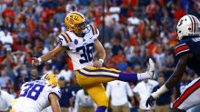 LSU fans thank Assumption College for kicker Cole Tracy