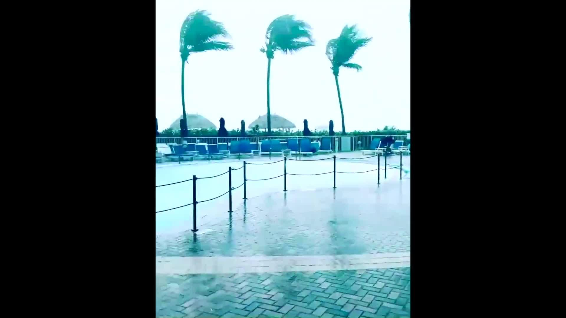 Tropical Storm Eta Batters Fort Myers Beach, Florida