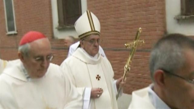 Pope Francis presides over first Holy Week