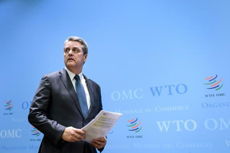 WTO chief to step down early as global economic crisis rages