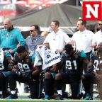NFL players take a knee In protest of Donald Trump after president calls for fan boycott