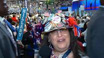 The Best Hats on the DNC Floor