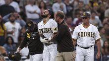 Padres star Fernando Tatis Jr. hurt on slide, leaves game