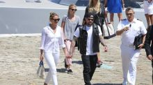 Cameron Diaz and Benji Madden enjoy Mediterranean yacht holiday