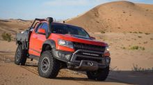 2019 Chevy Colorado ZR2 Bison Tray Bed Concept can carry anything anywhere