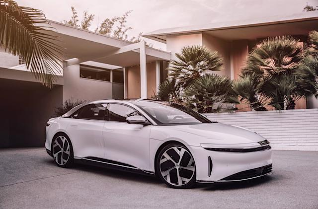 Lucid's first production EV will go head-to-head with Model S at $77,400