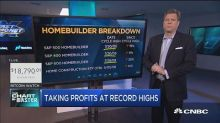 Homebuiders have been on fire, but one technician says it...