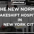 Makeshift hospitals transform New York City as it battles coronavirus pandemic