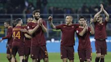 Nainggolan nets 2 to propel Roma to 3-1 win at Inter Milan