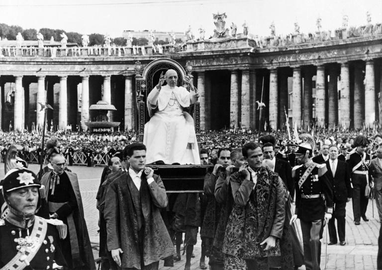 The controversy over Pius XII hinges on whether he remained too silent during the Holocaust, never publicly condemning the Nazis (AFP Photo/-)