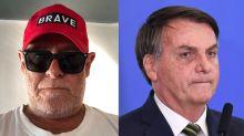 """Zé de Abreu ataca Bolsonaro por crise na saúde: """"Se alimenta de mortes"""""""