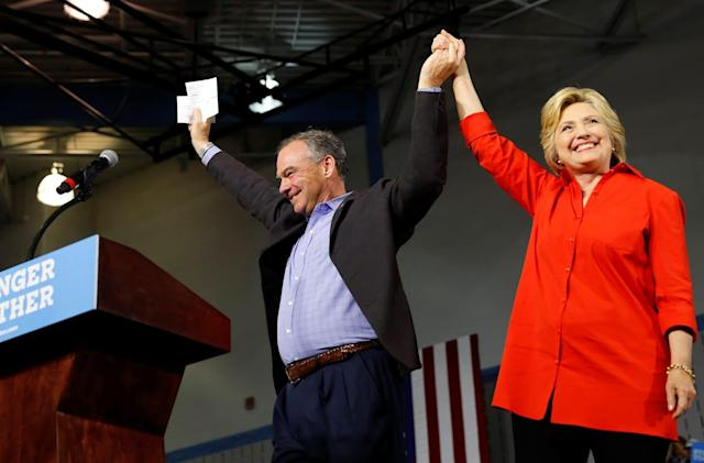 Clinton and Kaine will answer your questions on Quora