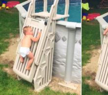 2-Year-Old Gets Through Pool Safety Gate With Ease to Highlight Importance of Child Supervision