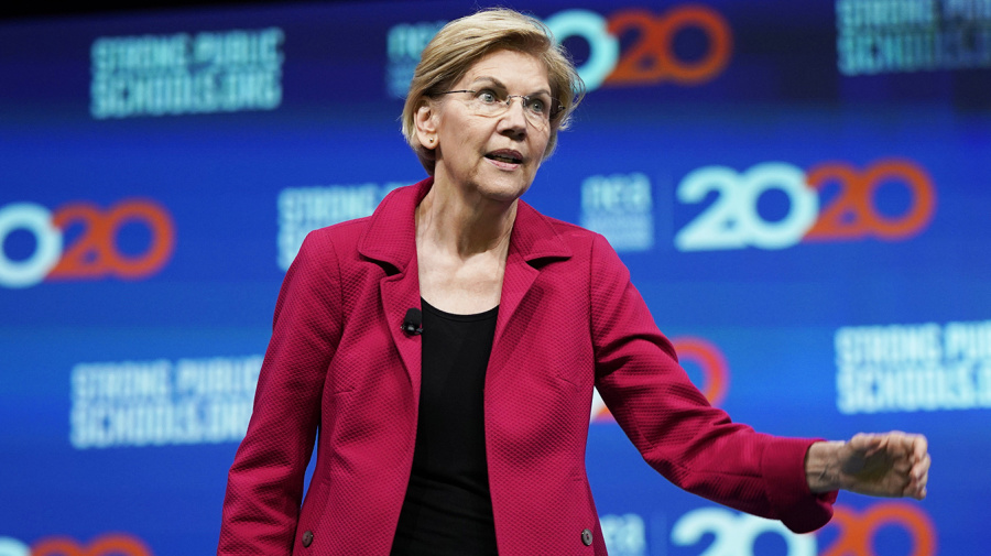 2020 candidate makes grim prediction about economy