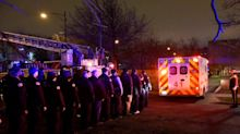 Chicago hospital shooting: Gunman dead after killing three, including police officer