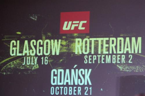 UFC garante mais três edições na Europa em 2017 - Florian Sadler