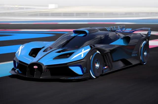 Bugatti's Bolide is a 1,825HP 'morphable' hypercar