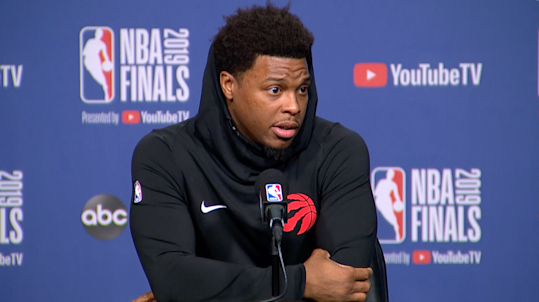 Kyle Lowry says he can't feel his injured thumb during play