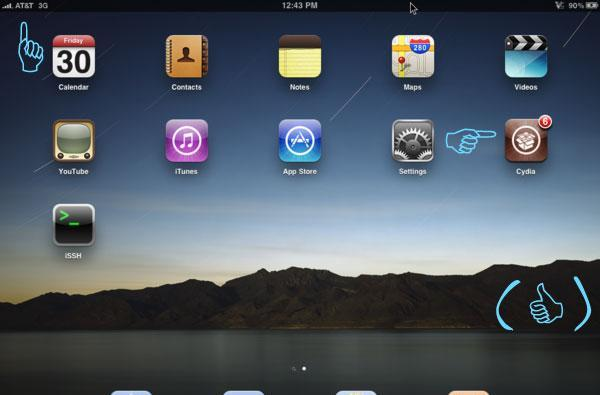 iPad 3G jailbroken on video: same as it ever was (on the WiFi model)