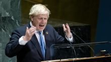 Poll shows 43% of Brits think Boris Johnson should resign