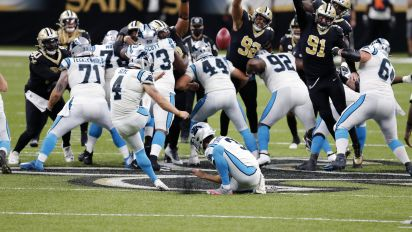 Panthers lose as would-be record-FG falls short