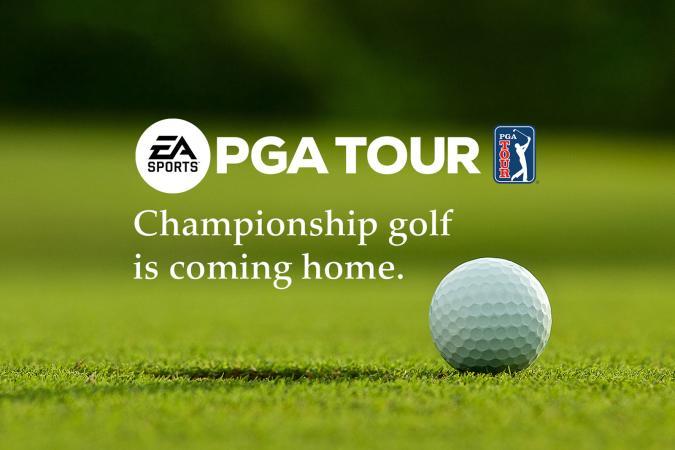 EA Sports PGA Tour golf game