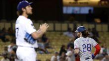 Rangers Snap 16-Game Road Losing Streak, Rout Dodgers 12-1