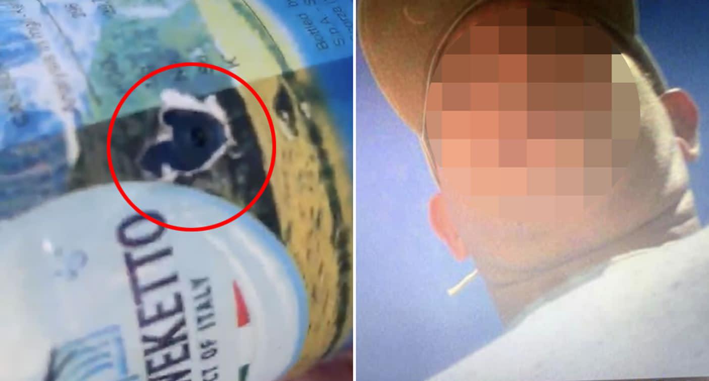'What a creep': Hidden camera in plastic bottle filmed women on NSW beach
