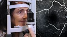 Woman's shocking discovery during routine eye test