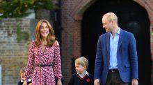 Kate Middleton y el príncipe Guillermo no saben qué hacer con su hijo George