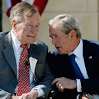 Bush presidents release a joint statement on Charlottesville after Trump's press conference