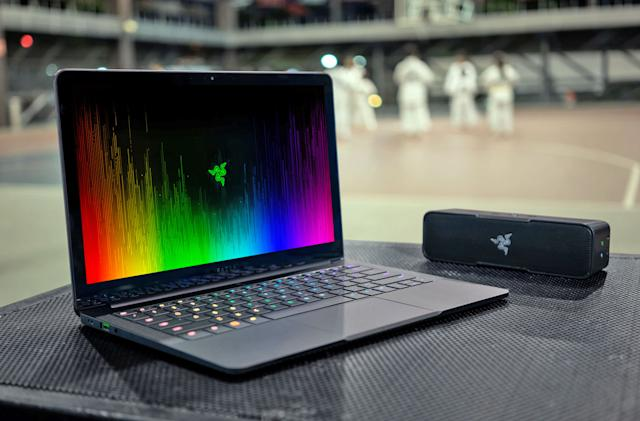 Razer's Blade Stealth packs a larger display into a familiar frame