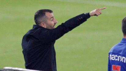 """Diego Martínez: """"El Huesca fue mejor que sus rivales durante muchos momentos"""""""