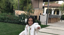 Dream Kardashian is all smiles amid reports that police were called to mom Blac Chyna's home
