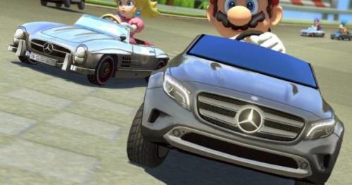 Sport Auto - jeux vidéo - Mario Kart 8 Deluxe : Mercedes repart pour un tour