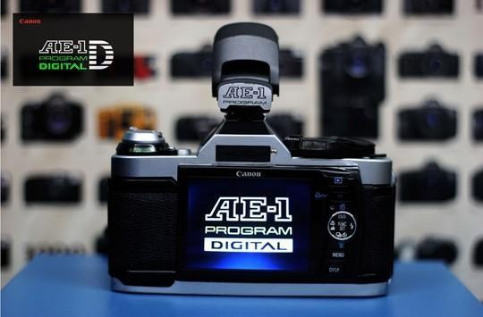 Canon AE-1 Program SLR gets a digital retrofit