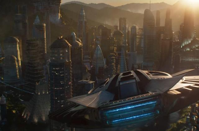 'Black Panther' trailer previews a technologically advanced Wakanda