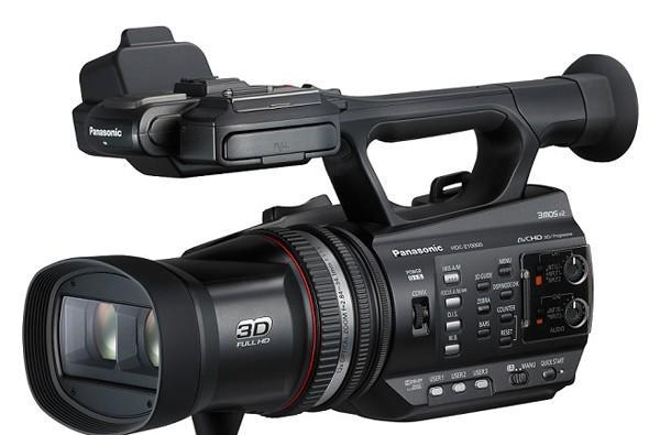 Panasonic shows off twin-lens 3D camera prototype, announces HDC-Z10000 3D camcorder