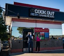 'Nothing more North Carolina than Cookout': Biden orders milkshakes at Cook Out, inspiring an explosion of support from fans of the regional chain with a cult following