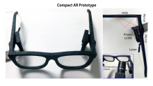 Microsoft reveals prototype augmented reality glasses that don't look wacky
