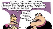 Lo que hizo el papa Francisco no les gustó a muchos