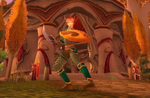 WoW Rookie: Leveling a paladin tank