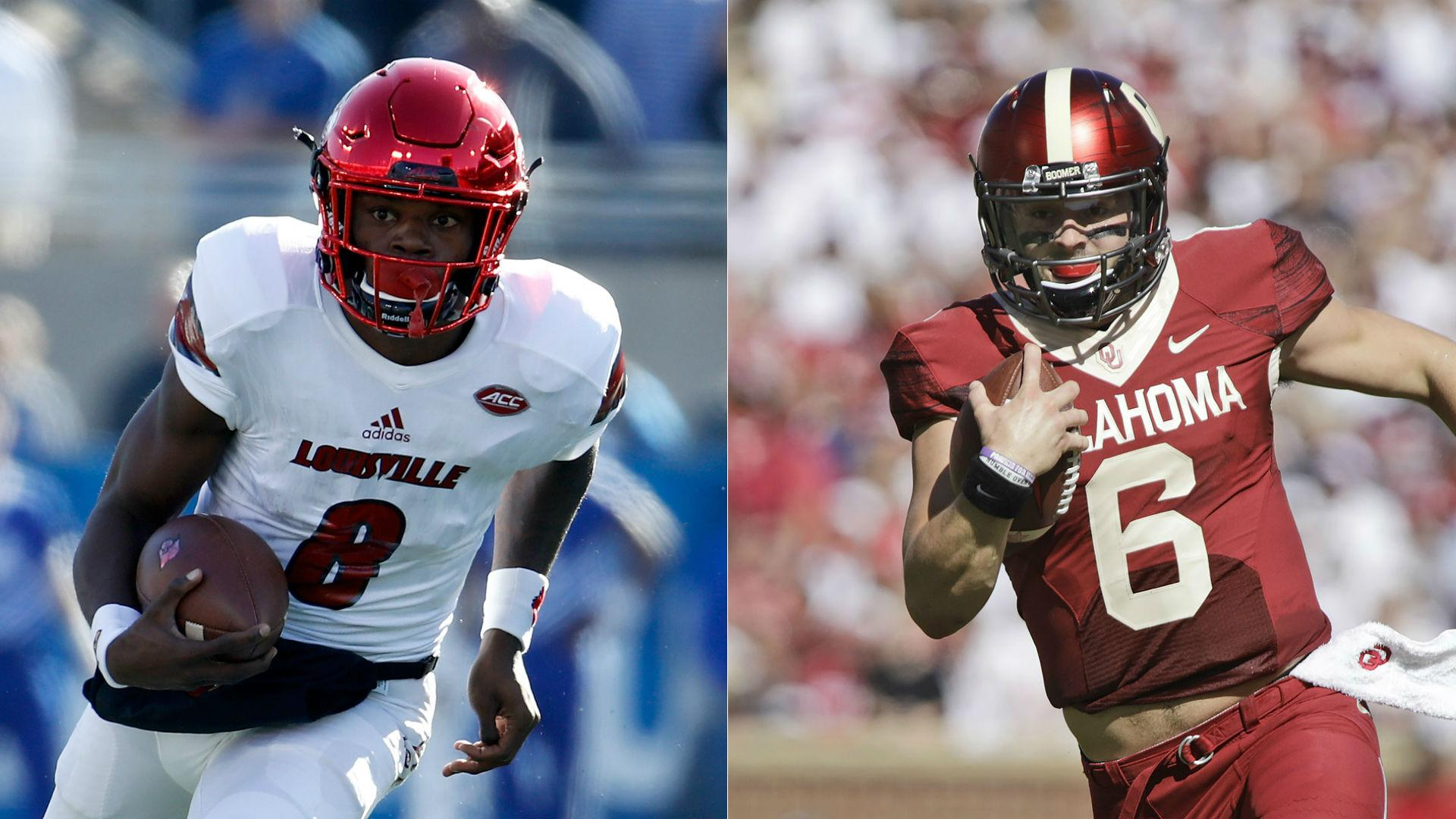 Lazy comparisons for Lamar Jackson, Baker Mayfield bound to