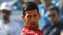 Djokovic withdraws from doubles match with neck pain