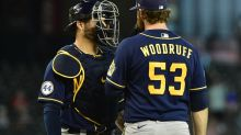 Brandon Woodruff does it all for the Brewers as they take down Arizona, 3-2